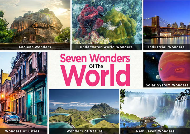 Glorious Facts About Seven Wonders Of The World For Kids - MomJunction