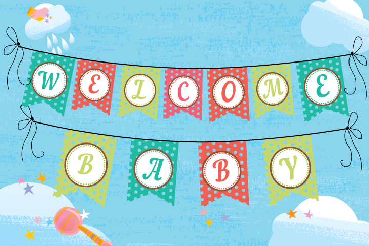 11 Attractive Baby Shower Banner Ideas - MomJunction