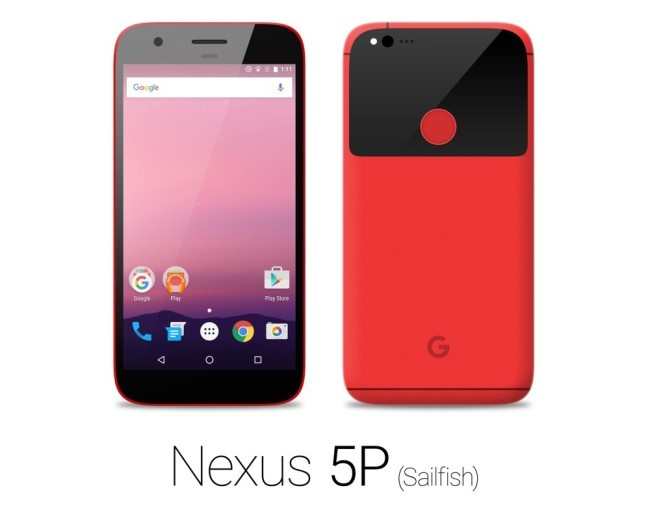 Nexus sailfish rojo
