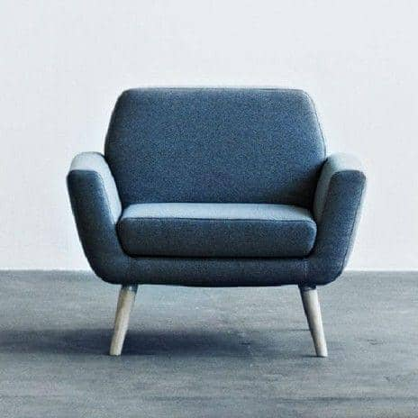 Nice Beautiful Amalia Lounge Sessel Ergonomische Form Attraktiv Design Designer  Sessel Jeansstoff . Nice Ideas