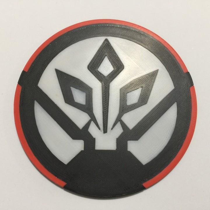 3D Printable Star Wars Rebels ISD Chimera Emblem Coaster by Trevor