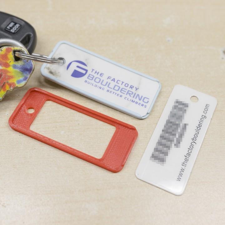 3D Printable Mini Membership Card Protector (for 1\