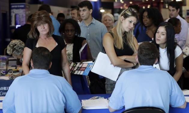US adds a solid 213,000 jobs; unemployment up to 4 pct