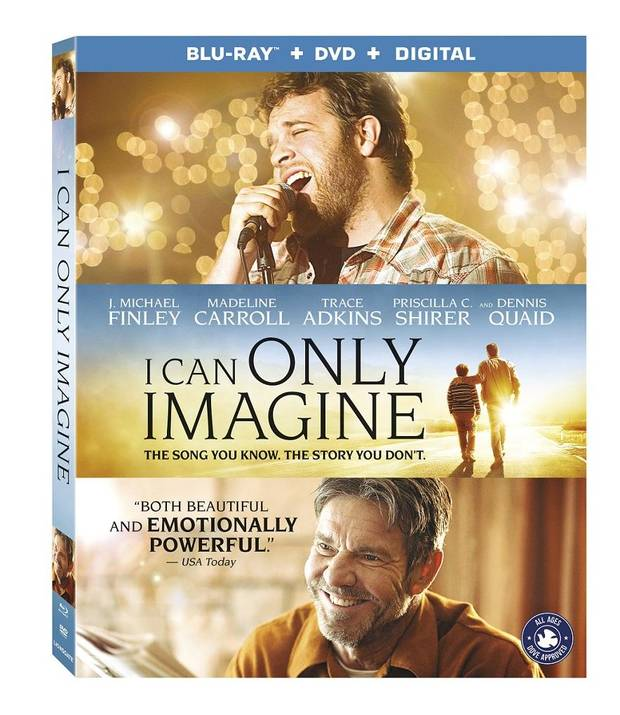 Hit Oklahoma-made film \u0027I Can Only Imagine\u0027 available on Digital HD