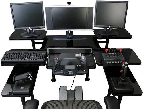 Pro Gaming Table Le Vrai Bureau Des Hard Core Gamers