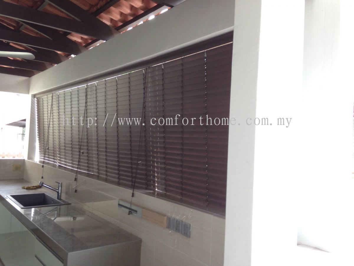 Spotlight Timber Venetians Selangor Outdoor Timber Blinds Blinds From Comfort Home Group