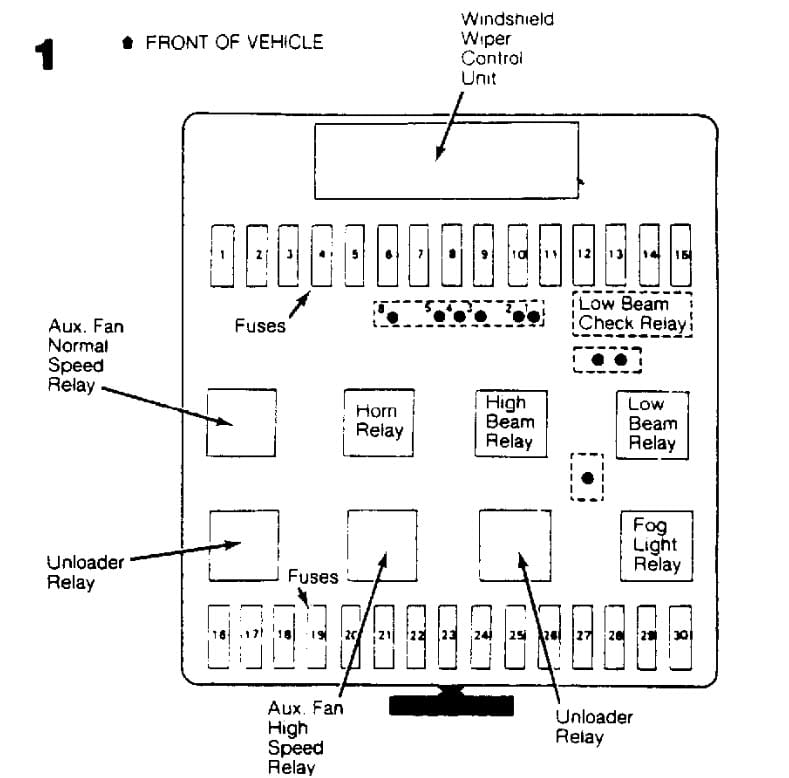 bmw 318i cooling fan relay wiring diagram