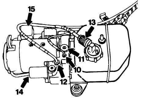Mercedes-Benz SLK 230 Vario Top Hydraulic Pump Service 1998-2004