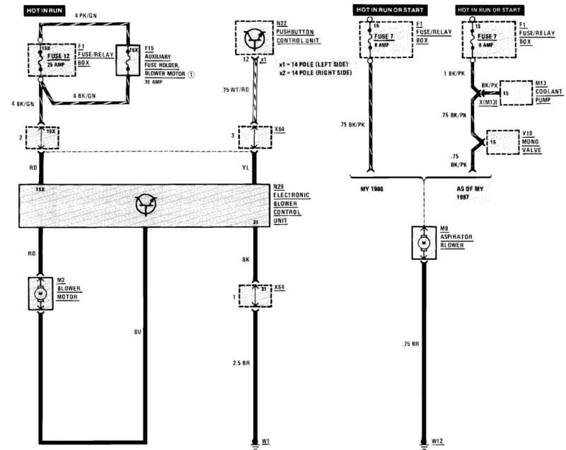 Mercedes-Benz W124 HVAC Resistor Replacement 1986-1995 E-Class