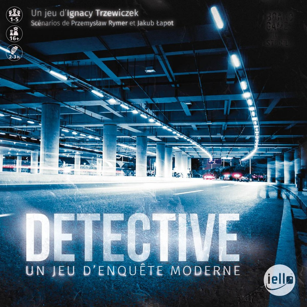 Moderne H User Pl Ne In Blood Buy Detective Board Game Iello