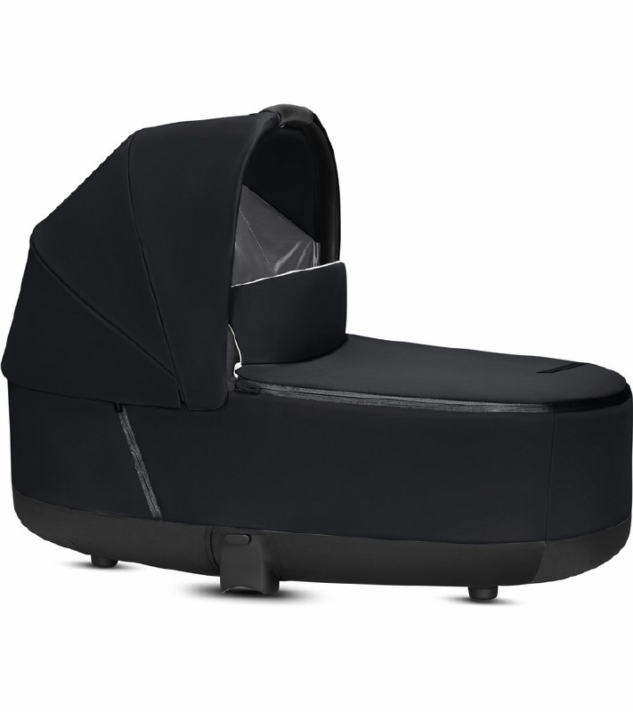 Cybex Priam Stroller Dimensions Cybex 2019 Priam 3 Lux Carry Cot Premium Black Nini