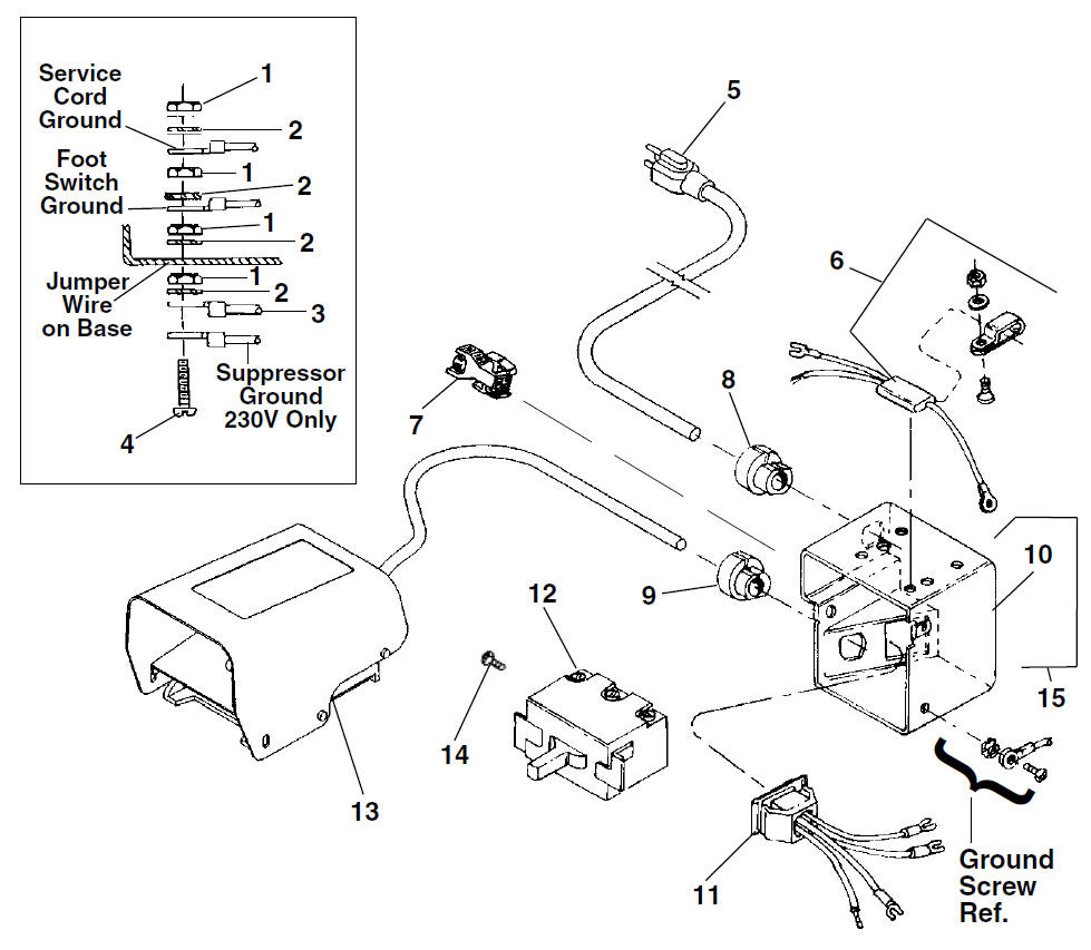 wiring diagram for ridgid threader