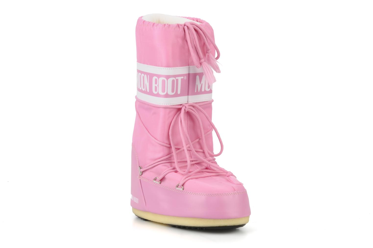Moon Boot Moon Boot Nylon Sport Shoes In Pink At Sarenza