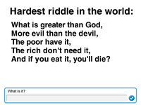 World S Hardest Riddles With Answers