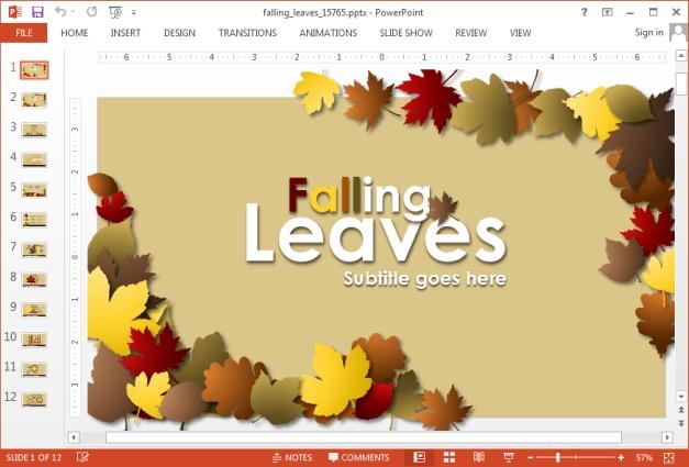 autumn powerpoint backgrounds - Alannoscrapleftbehind - thanksgiving powerpoint templates