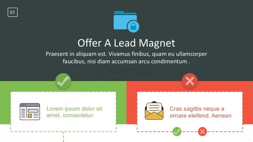 Lead Generation Marketing Sales Funnel PowerPoint Template - SlideModel