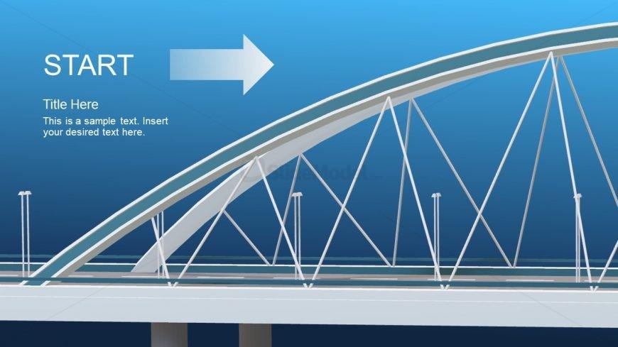 Animated PowerPoint Design of Bridge - SlideModel