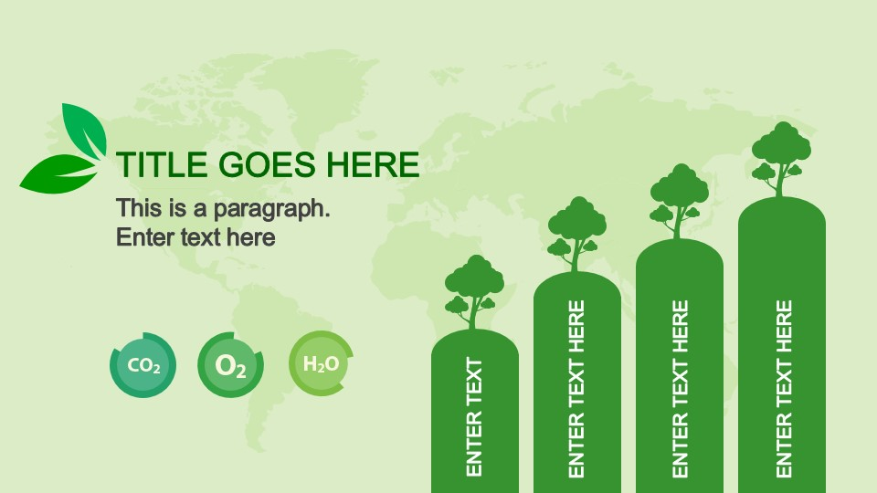 Animated Bar Chart in Natural Resources PowerPoint Template - SlideModel