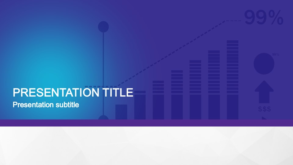 Animated Flat Business PowerPoint Template - SlideModel