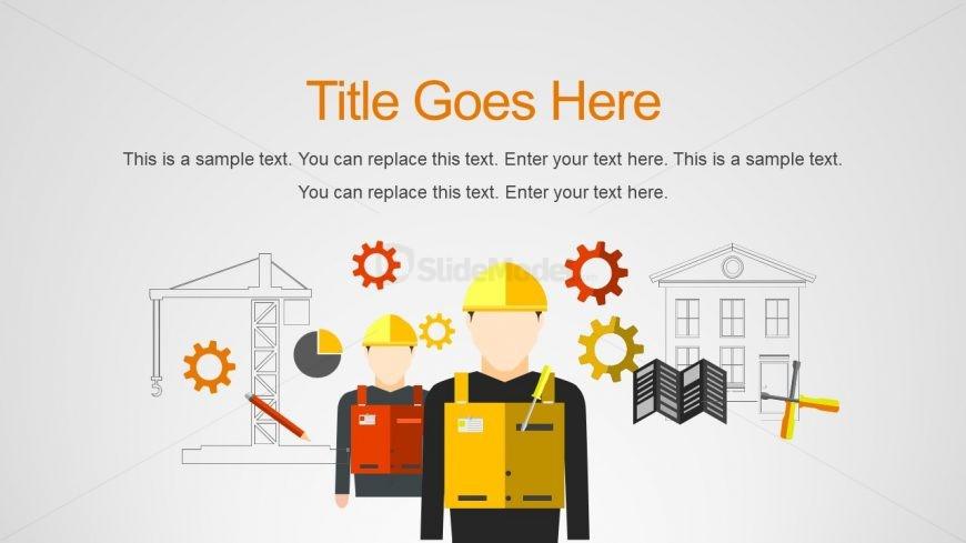 Construction Shapes Clipart Presentation - SlideModel