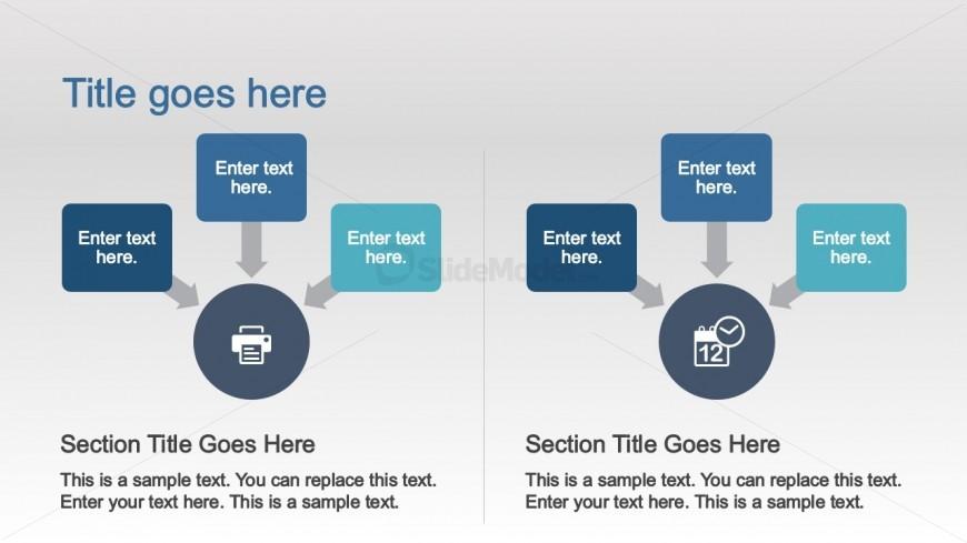 PowerPoint Comparison SmartArt Graphics - SlideModel - smartart powerpoint template