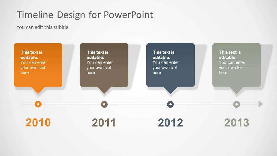 Timeline Template for PowerPoint - SlideModel - powerpoint timeline