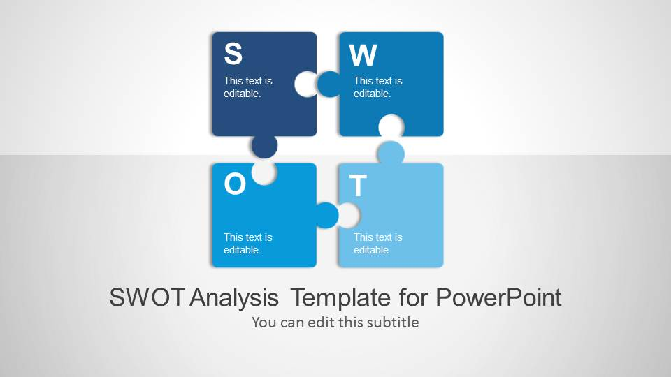 SWOT Analysis PowerPoint Template - SlideModel - analysis template