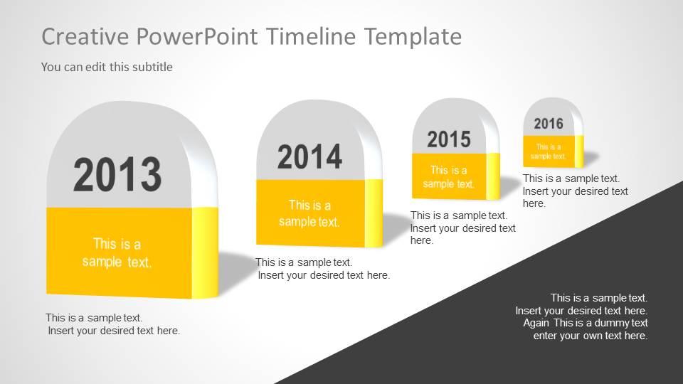 creative timeline templates - Baskanidai - sample advertising timeline