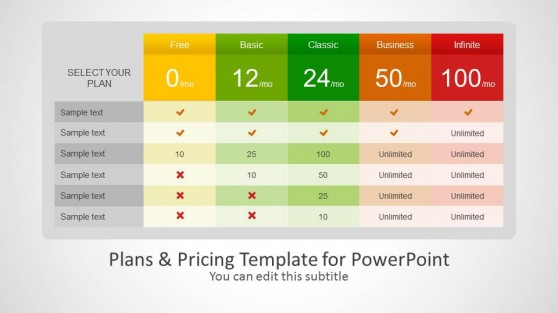 Product Plan PowerPoint Templates - product plan template