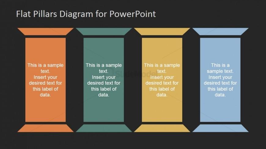 Pillars Template for Company Presentation - SlideModel