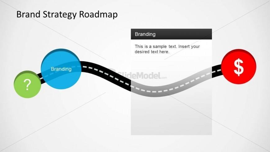 Branding Roadmap PowerPoint Slide Design - SlideModel
