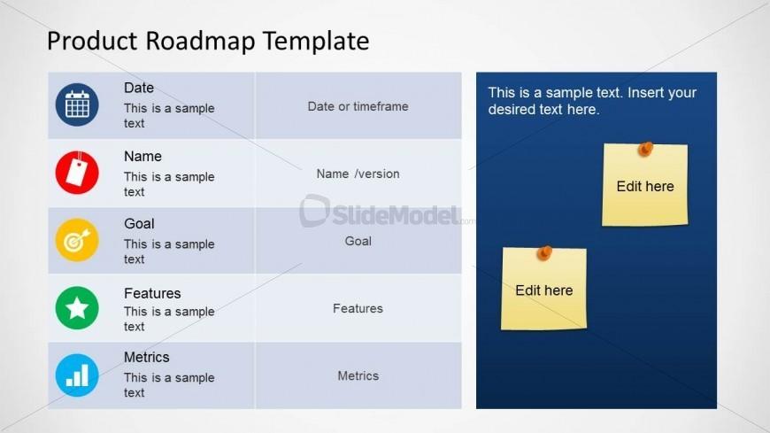 6372-01-product-roadmap-template-1 - SlideModel - roadmap template