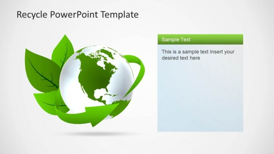 Recycle PowerPoint Templates - recycling powerpoint templates