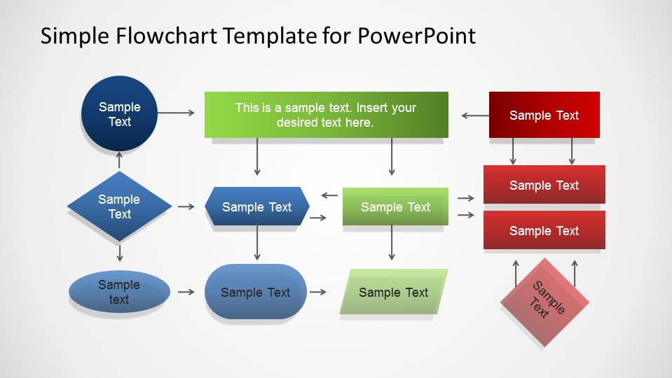 Flow Chart PowerPoint Templates - flowchart template