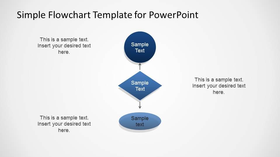 Simple Flowchart Template for PowerPoint - SlideModel