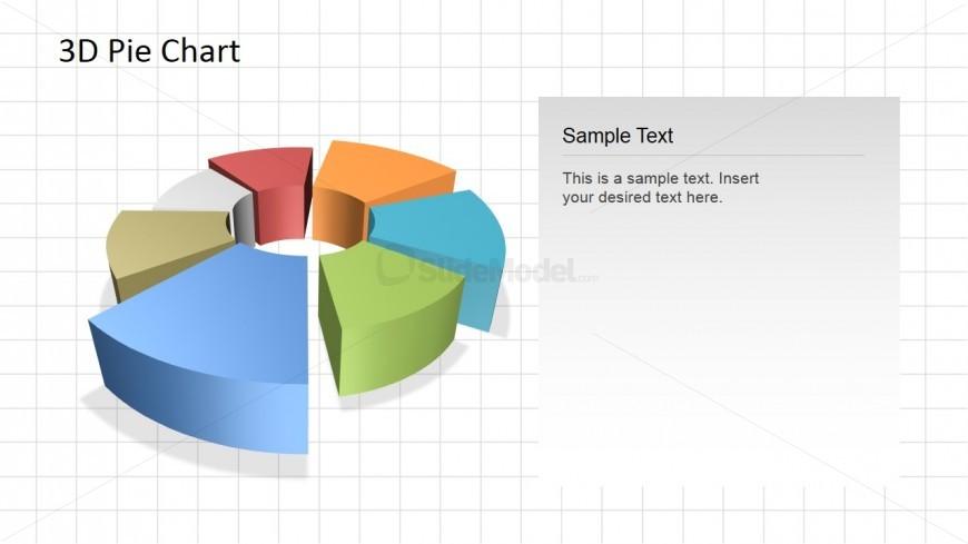Editable 3D Donut Chart for PowerPoint - SlideModel