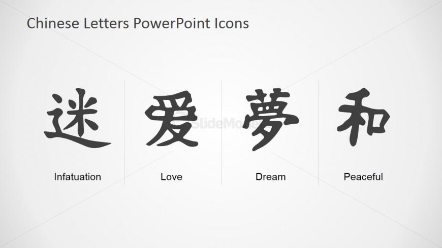 Chinese Alphabet PowerPoint Template - SlideModel