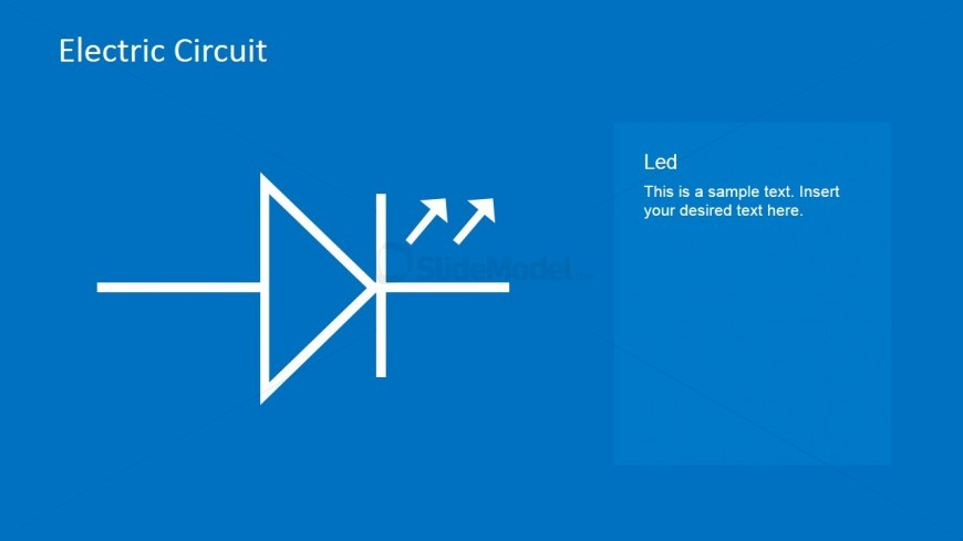 LED Circuit PowerPoint Template - SlideModel