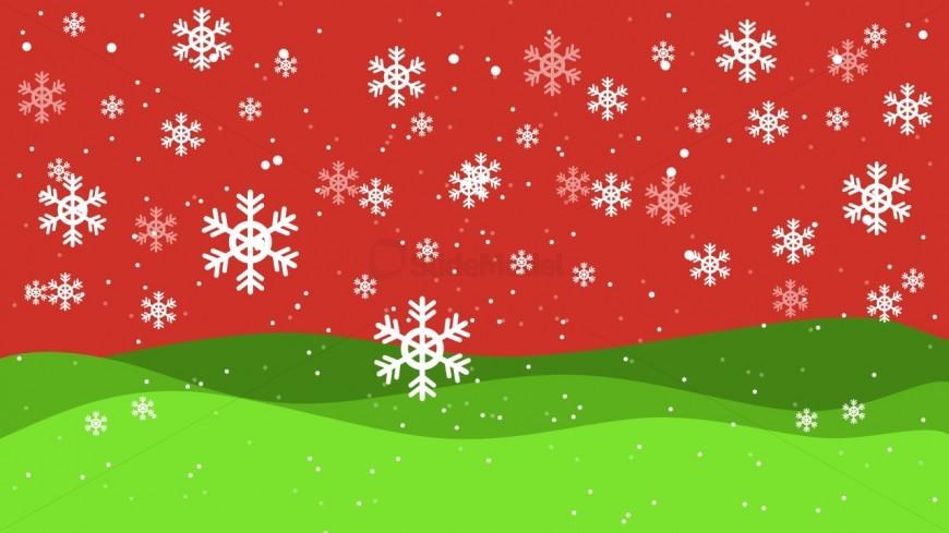 Christmas Theme Background - SlideModel - christmas theme background
