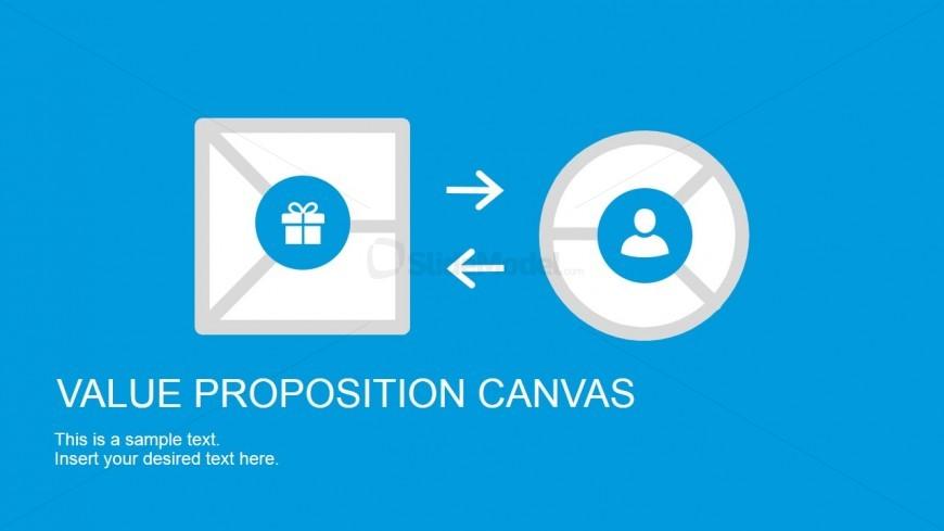 Value Proposition Canvas Cover Slide Icon - SlideModel