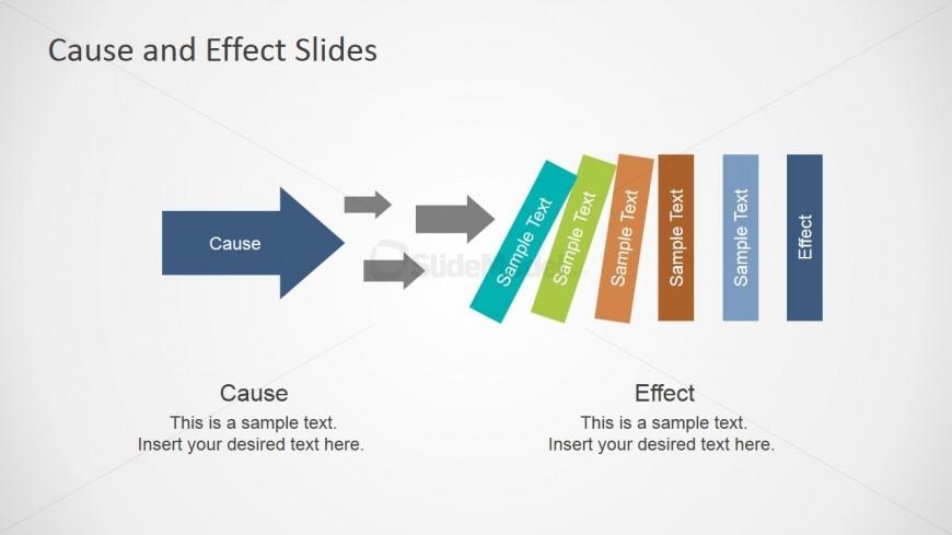 Cause  Multiple Effects Slide for PowerPoint - SlideModel