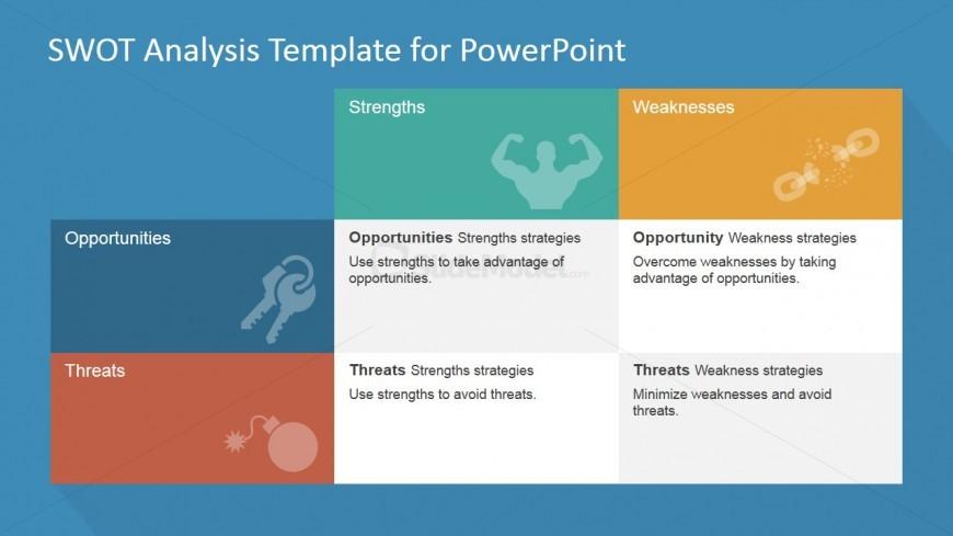 SWOT Matrix PowerPoint Template - SlideModel