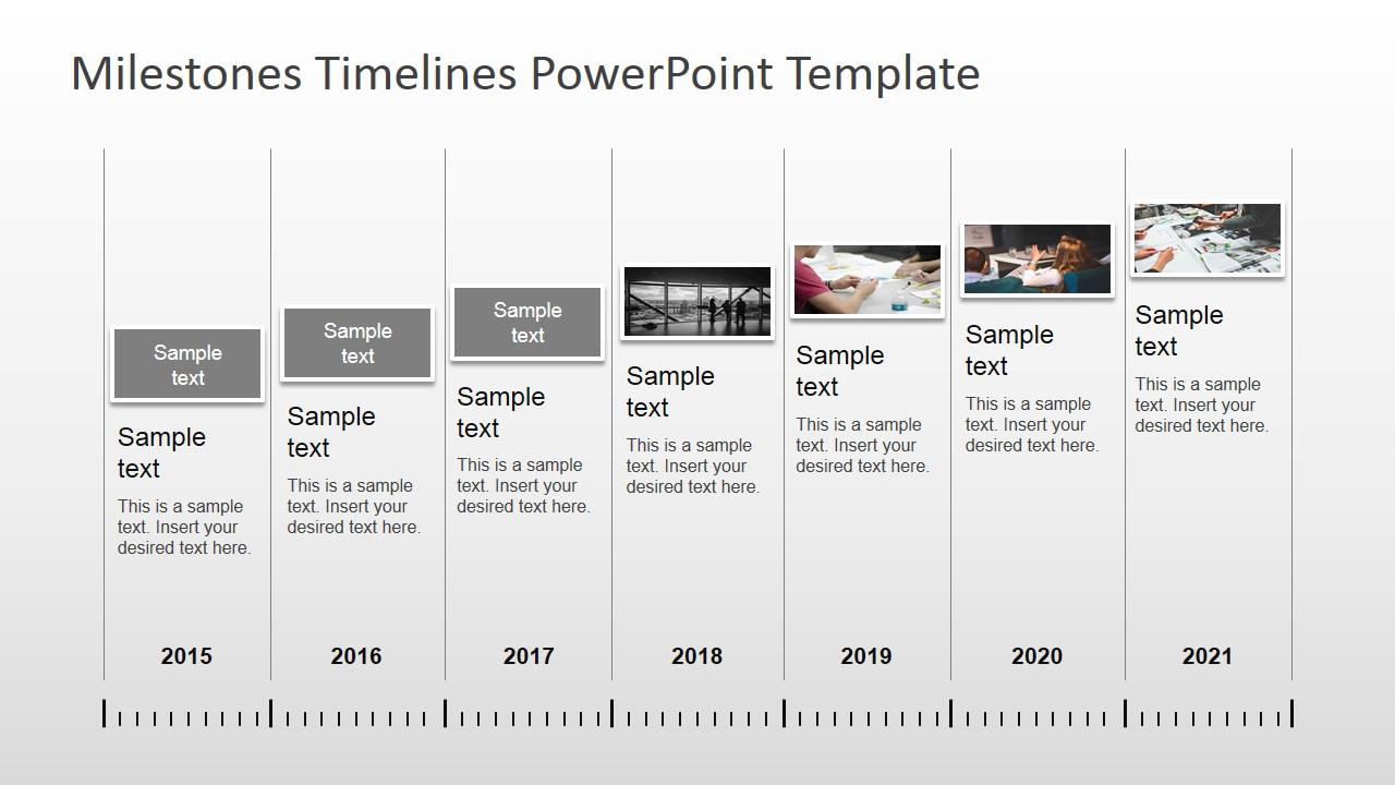sample timelines in powerpoint