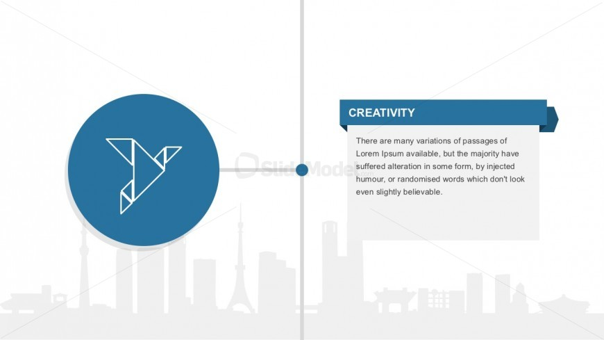 Creative Employee Profile Slide Template - SlideModel