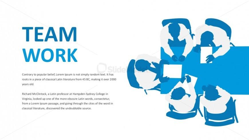 Business Teamwork PowerPoint Slides - SlideModel