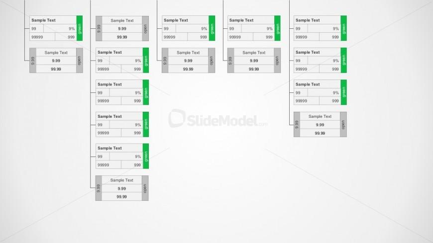 rings diagram template for powerpoint slidemodel