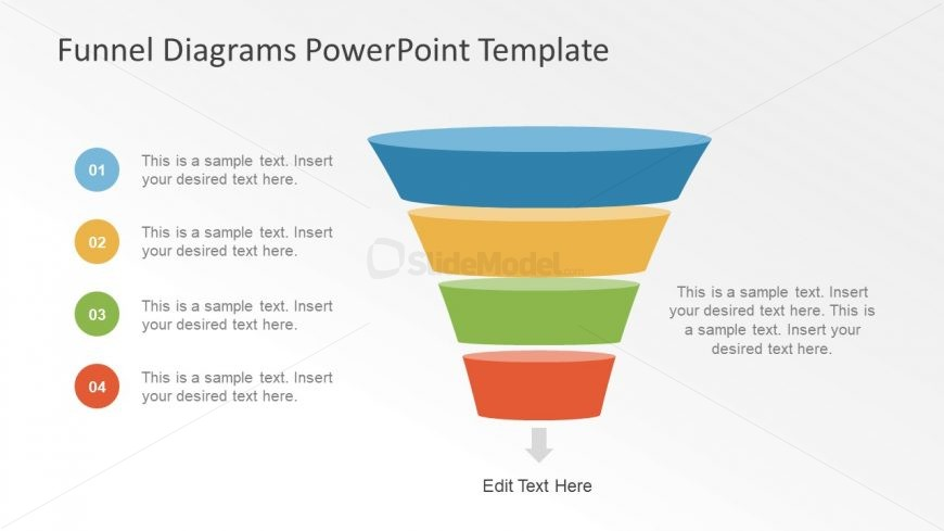 Funnel Diagram Presentation for Sales - SlideModel