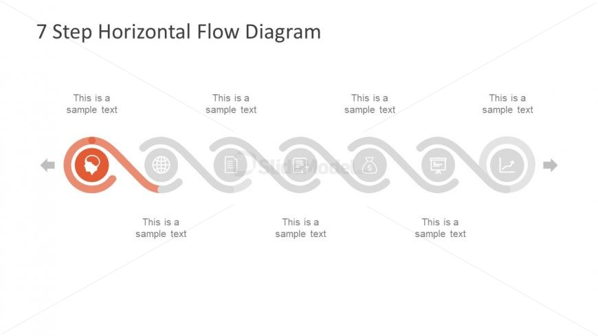 funnel diagram and process flow in powerpoint