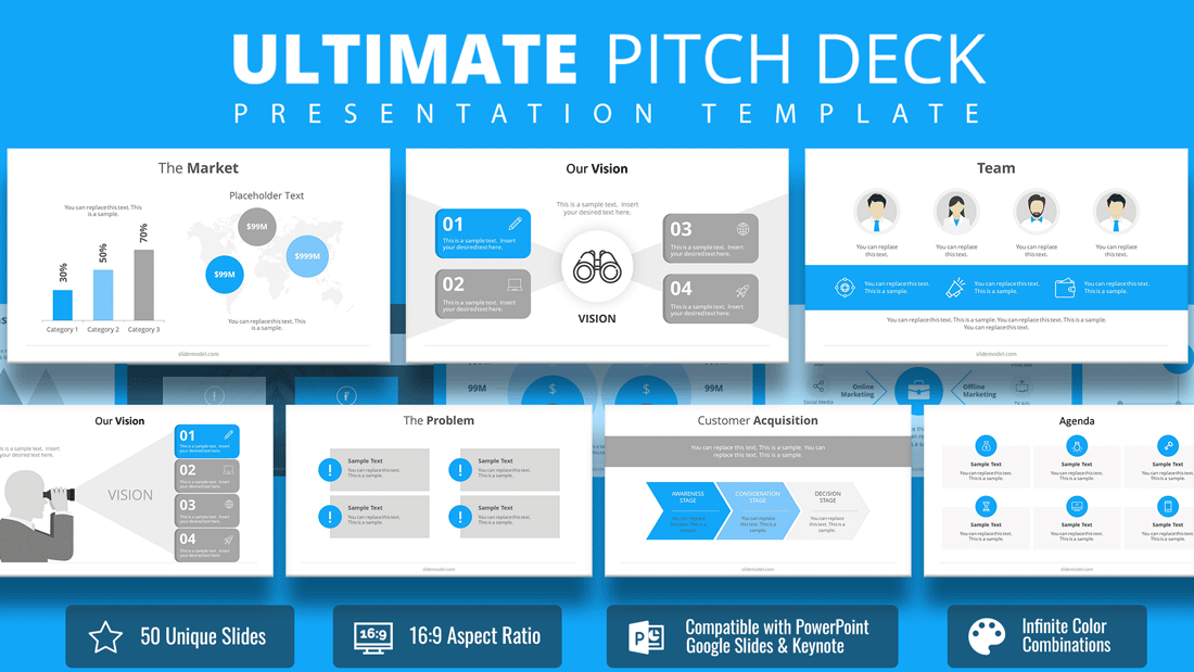 powerpoint process flow template free