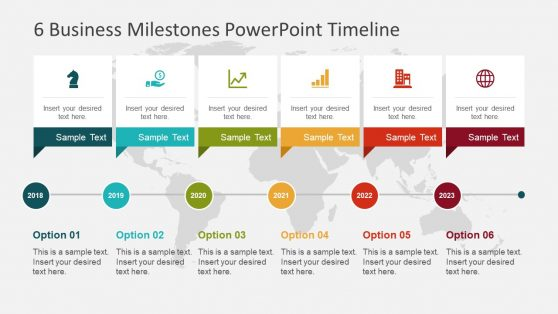 Editable Timeline Templates for PowerPoint - timeline template